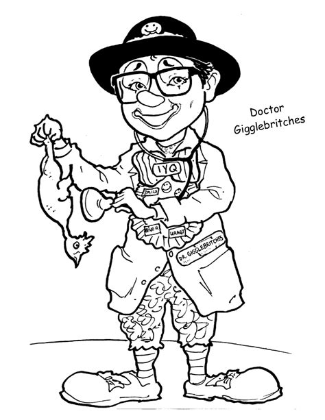 coloring book jokes laughter therapy coloring pages clowns on rounds