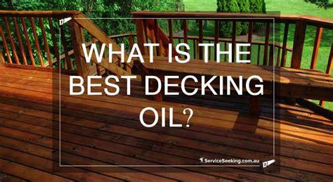decking oil service seeking