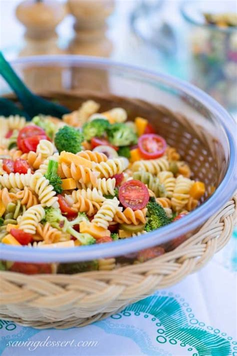 pasta salad italian dressing 2015 top 10 favorites saving room for dessert