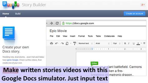 Docs Story Builder Elements 4d Ukedchat