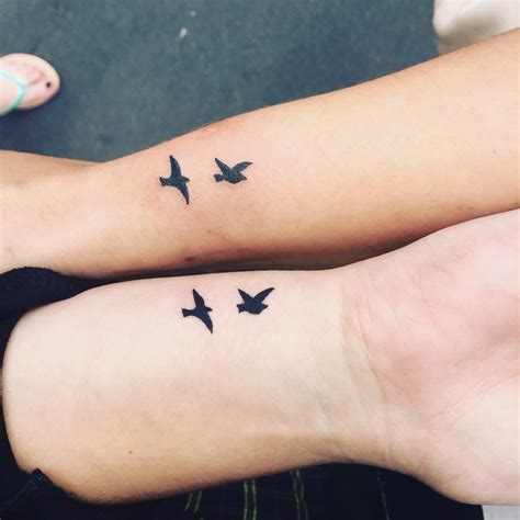 tiny bird tattoo 28 matching designs ideas design trends