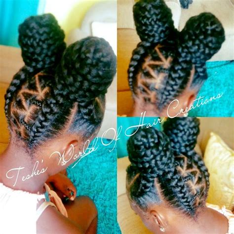 kids plaits 19 best crochet braids for little girls images on