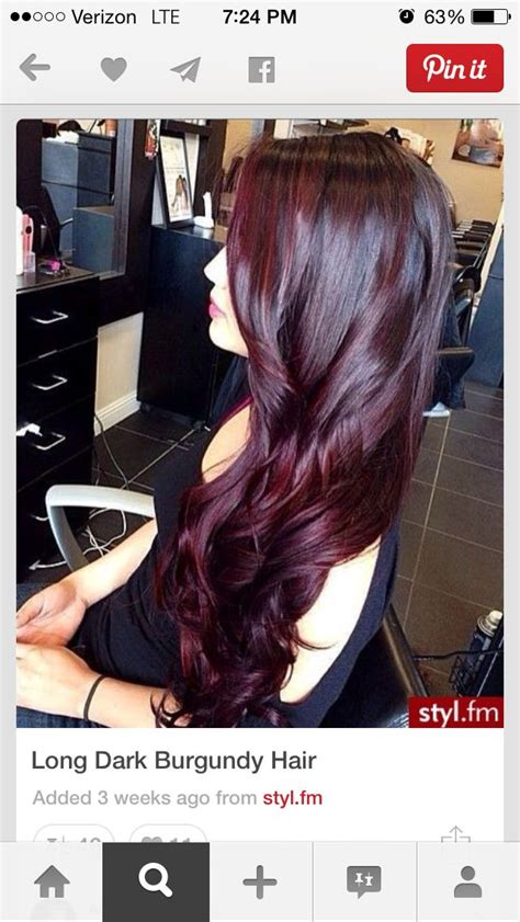 closes color to cherey cola red 25 best ideas about cherry cola hair color on pinterest