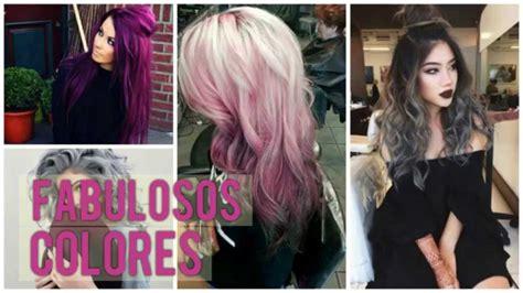 color de cabellos de moda colores para el cabello moda 2017 youtube