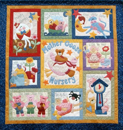 Goose Quilt Pattern by Goose Nursery Pattern Only Kookaburra Cottage