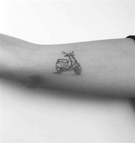 scooter tattoos 100 of the best small tattoos insider