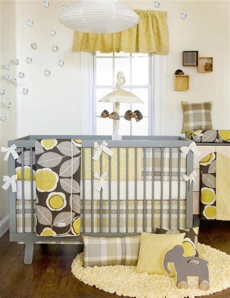 Yellow Elephant Crib Bedding Yellow And Grey Nursery With An Elephant Nursery Ideas Pinterest