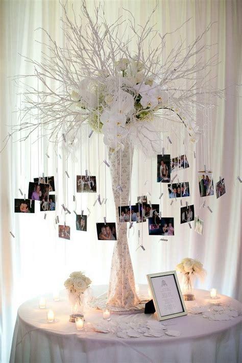 26 Creative DIY Photo Display Wedding Decor Ideas   Tree