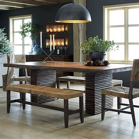 crate and barrell bench 1000 ideas about dining table bench on pinterest table