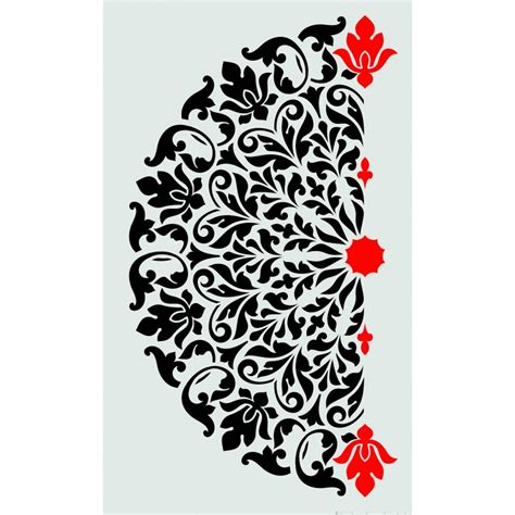 bloombety modern wall stencils with candles decorative decorative stencils 28 images spiral decorative
