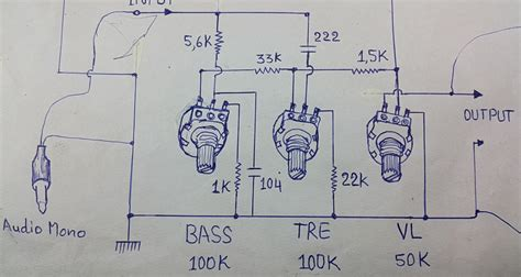 bass treble circuit diagram how to make lifier stereo using ic la4440 with 4558 ic