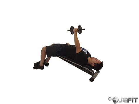 hammer dumbbell bench press dumbbell decline one arm hammer press exercise database
