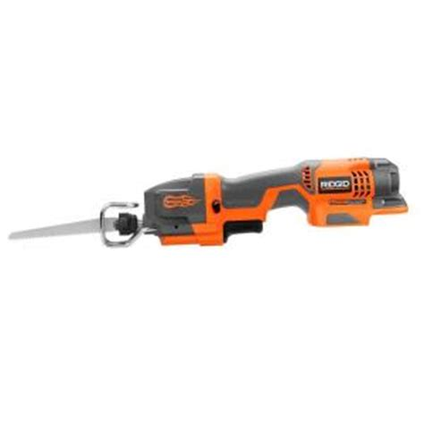 Home Depot Tools by Ridgid Fuego One Handed Recip Tool Only R86447n The