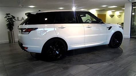 land rover white range rover sport white black lawton brook youtube