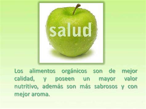 ventajas  desventajas de los alimentos organicos