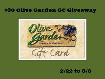 Olive Garden Valentines Day Special by 30 Olive Garden Giveaway