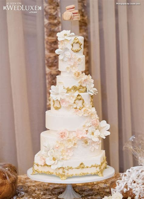 Hochzeitstorte Ivory by Luxury Ivory And Gold Trim Wedding Cake Archives