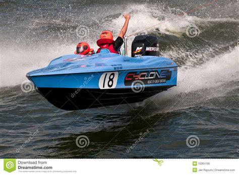 ski boat racing waterski racing boat editorial image image 10361195