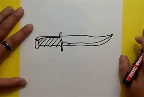 imagenes chidas y faciles para dibujar como dibujar un cuchillo paso a paso how to draw a knife