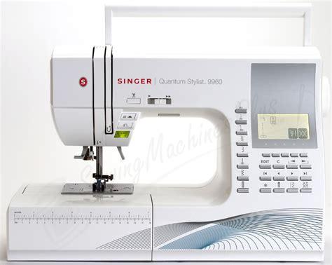 singer quantum stylist 9960 quilting sewing machine