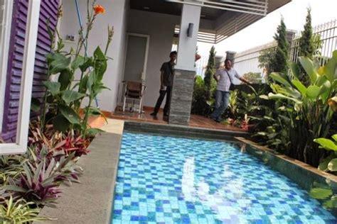 jasa desain taman rumah design kolam renang pribadi kontraktor kolam renang di lung fumida pool