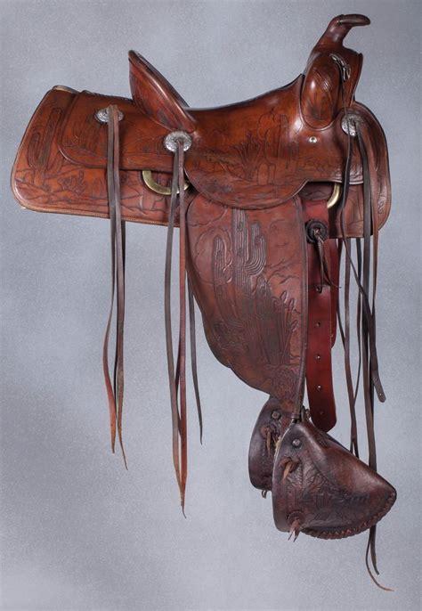 Arizona Saddle Blanket Co by N Porter Arizona Cactus Saddle