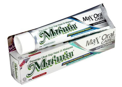 Pasta Gigi Mu Min ubat gigi mu min max care mu min
