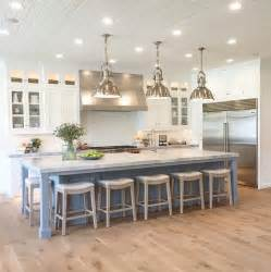 how big is a kitchen island best 25 kitchen island seating ideas on white