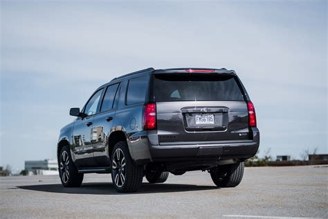 chevrolet tahoe premier rst review standing  test