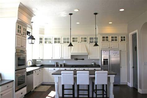 kitchen cabinet bulkhead amy s casablanca kitchen soffit transformation after
