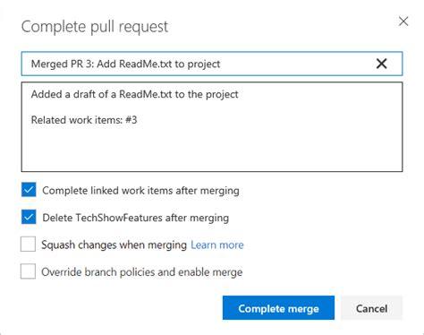 git tutorial update create a pull request microsoft docs