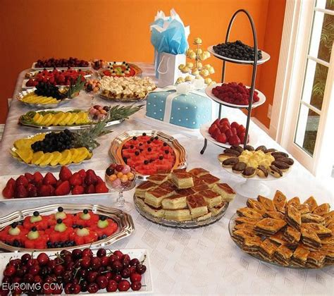 food network bridal shower brunch fruit tray ideas delicious