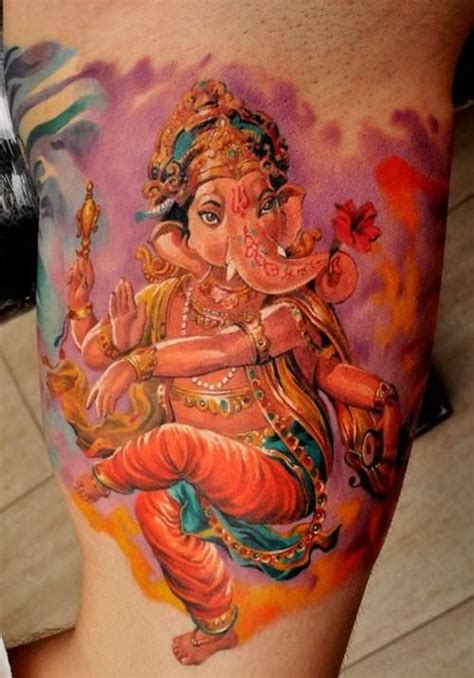 hindu god tattoos designs this amazing of ganesh by dmitriy samohin shows the