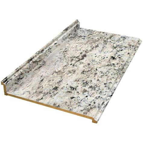 Countertops At Home Depot by Valencia 8 Ft Laminate Countertop In Typhoon 495252v8