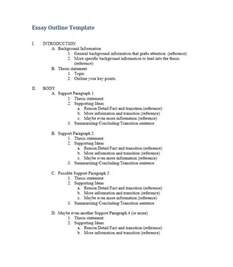 template essay outline printable research paper outline template
