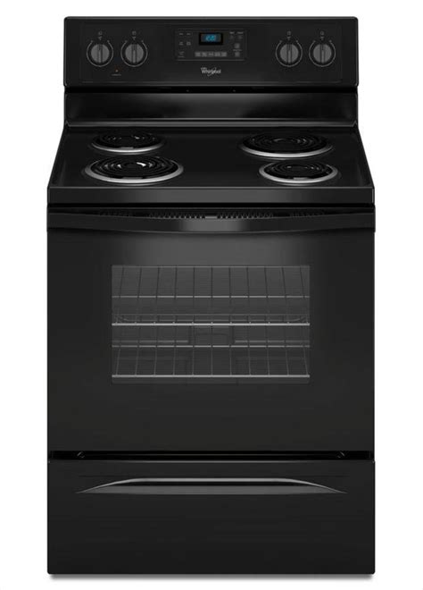 whirlpool 30 in 4 8 cu ft electric range with self