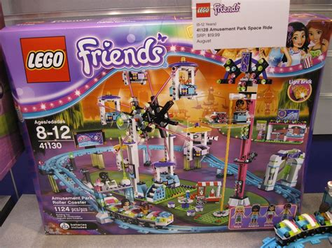 lego friends roller coaster 2016