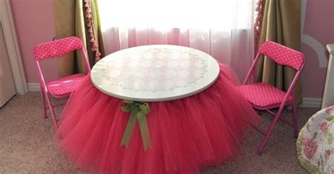 Diy Tutu Table Gorgeous Decorating by Diy Table And Bed Tutu Skirts Diy Craft Projects