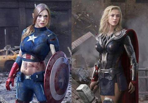 thor movie girl female captain american and thor costumes and cosplay