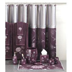 grey and purple bathroom sets bathroom on pinterest purple bathrooms purple and bathroom accessories