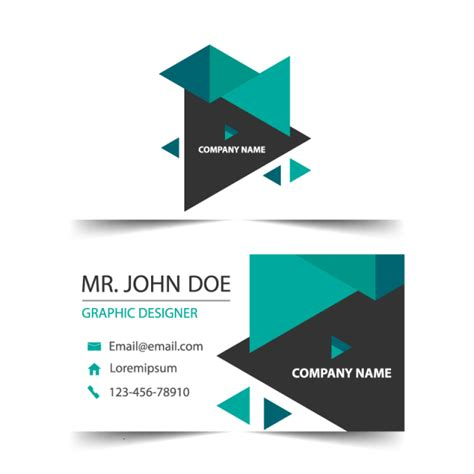 Business Card Background Template Png by Business Card Template For Free On Pngtree