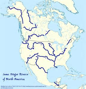 map of america with rivers rivers and waterfalls sail pathfinders