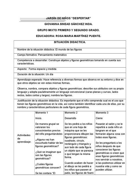 didactica para maestro by mauricio sanchez issuu situaci 243 n did 225 ctica figuras geometricas by giovanna issuu