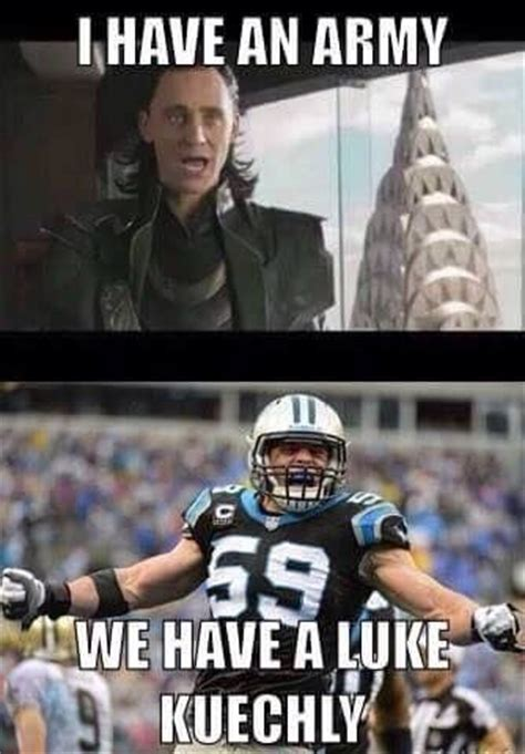 Luke Kuechly Meme - 25 best ideas about carolina panthers on pinterest