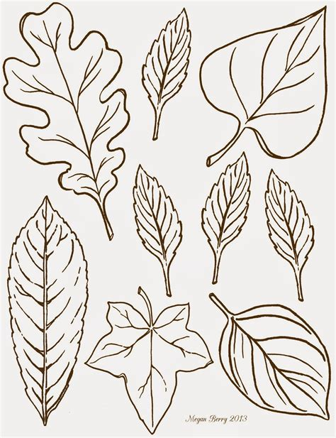 printable leaf art lilac lavender october s party clip art