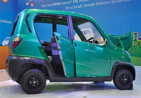 re bajaj new car 4 wheelers in india bajaj unveiled re60 ulc just before
