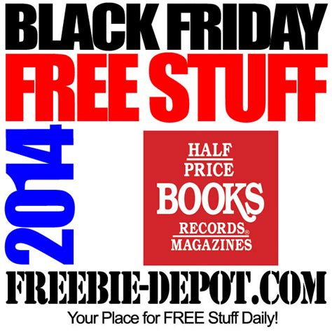 Half Price Gift Cards - free stuff black friday half price books free tote bag free gift card