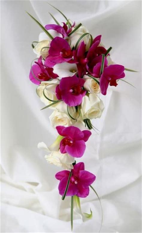 long wedding bouquet pictures jpg
