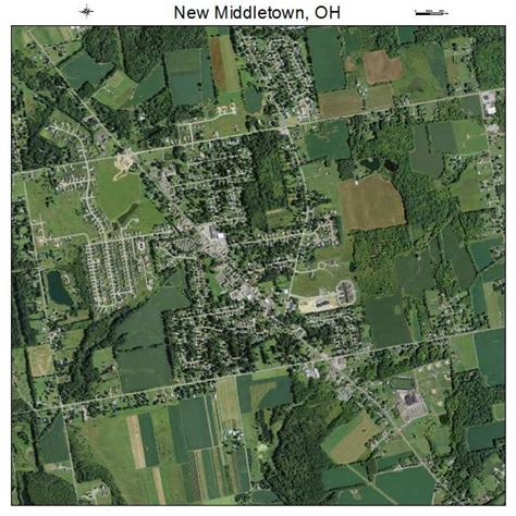 map of middletown ohio aerial photography map of new middletown oh ohio
