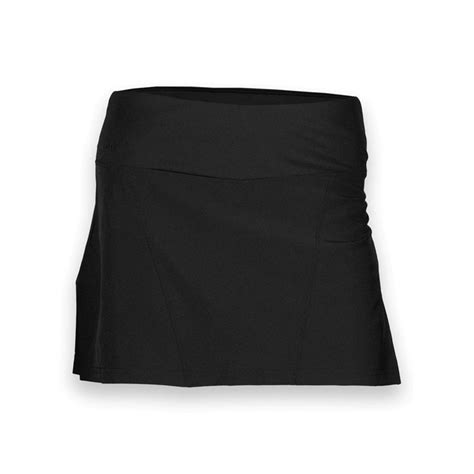 bolle back pleated tennis skirt black 86601000
